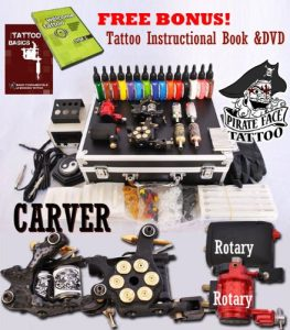 Carver Tattoo Kit