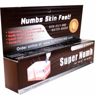 Skin Numbing Cream