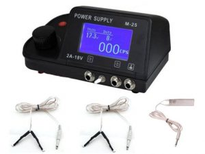 Tattoo Power Supply LCD Display