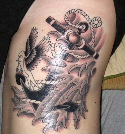 38275571bf206 18 Anchor Tattoos and Their Distinct Meaning - Tattoos Win