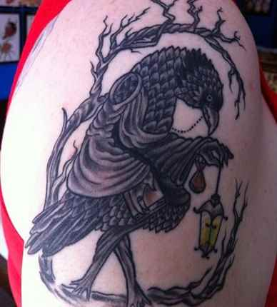 Amazing Crow Tattoos and Their Unique Meanings - Tattoos Win
