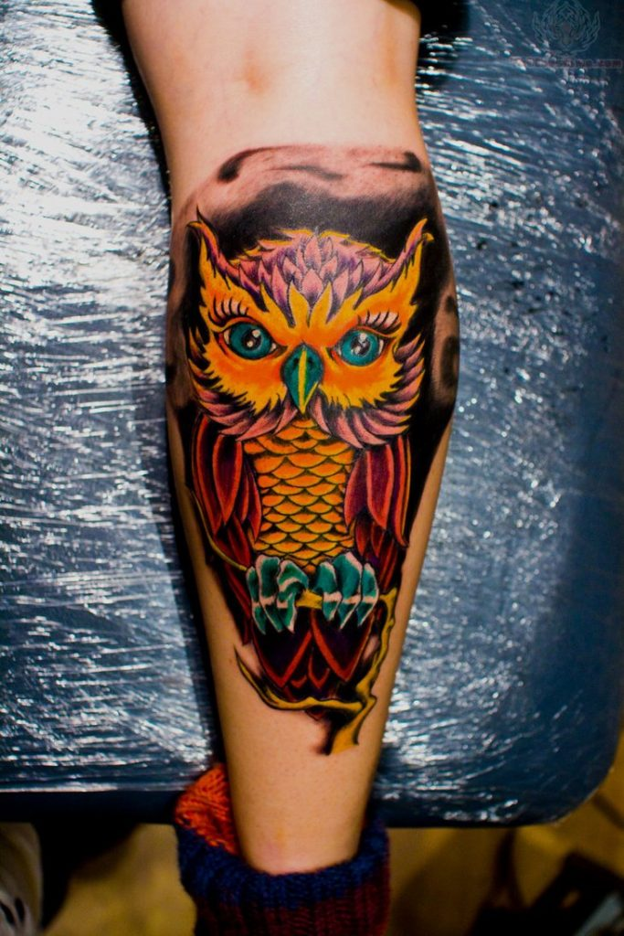 15 Owl Tattoo With Positive Meanings - Tattoos Win
