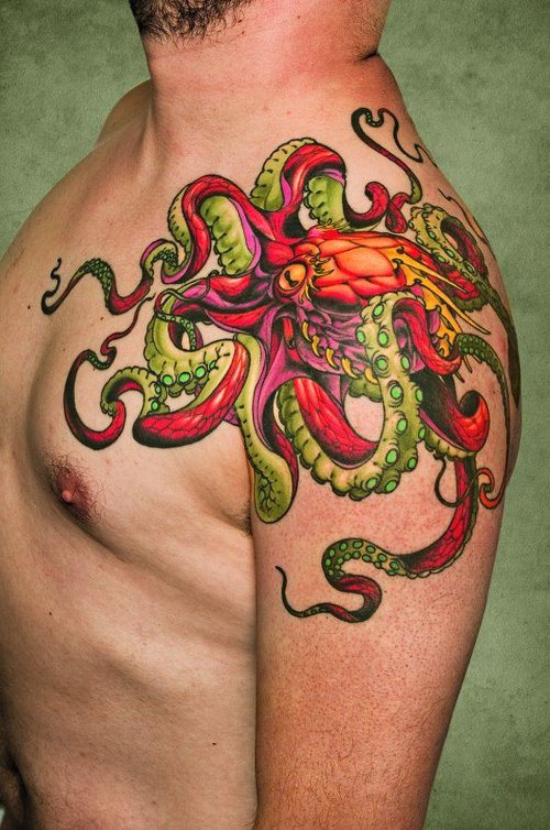 Octopus Tattoos And Their Deceptive Meanings Tattoos Win