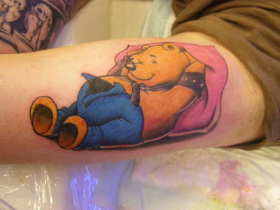 17 Winnie The Pooh Tattoos With Cute and Amazing Meanings
