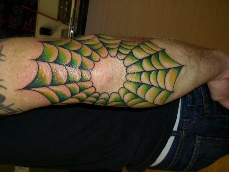ef00fce85 18 Spider Web Tattoos With Dark and Light Meanings - Tattoos Win