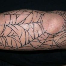 Spider Web Tattoos