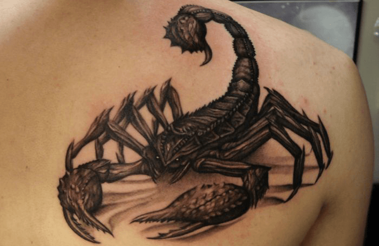 16 Scorpion Tattoos With Their Meanings Explained - Tattoos Win