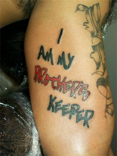 19 My Brothers Keeper Tattoo With Powerful Meanings Tattoos Win