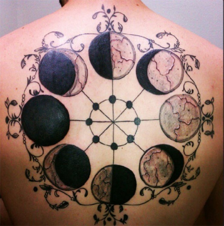 Outstanding meaning of moon phase tattoos tattoos win for Moon phase tattoo