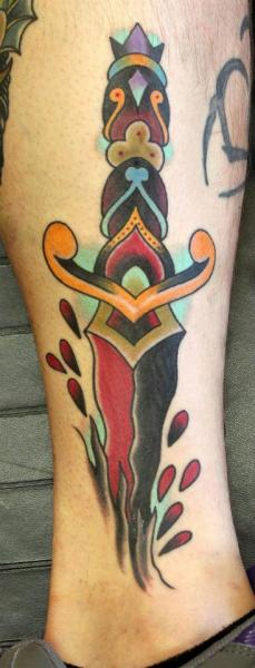Understanding The Meanings Behind The Dagger Tattoo Tattoos Win