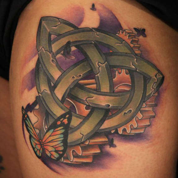 Trinity Knot tattoos