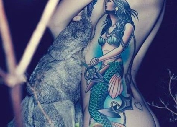 29 Mermaid Tattoo With Symbolic and Alluring Meanings