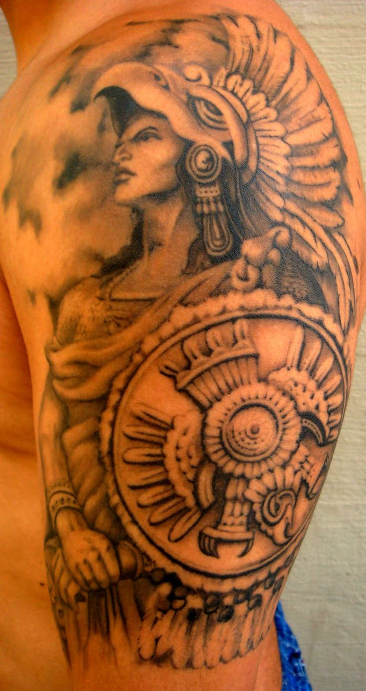 30 specific mayan tattoos and their unique meanings tattoos win rh tattooswin com mayan warrior tattoo designs mayan warrior tattoo ideas
