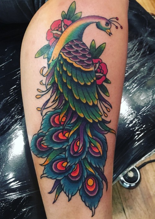 21 Peacock Tattoos With Unique Meanings Tattoos Win