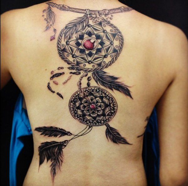 The Origin And Meanings Of The Dreamcatcher Tattoos Tattoos Win
