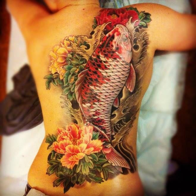 The Colorful Koi Fish Tattoo And Meanings Tattoos Win