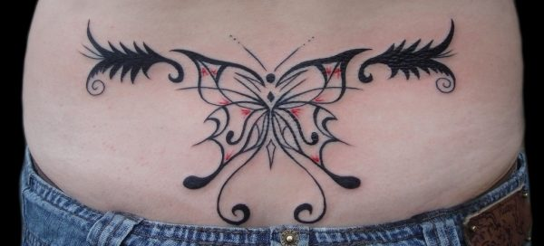 tribal-custom-butterfly-tattoo