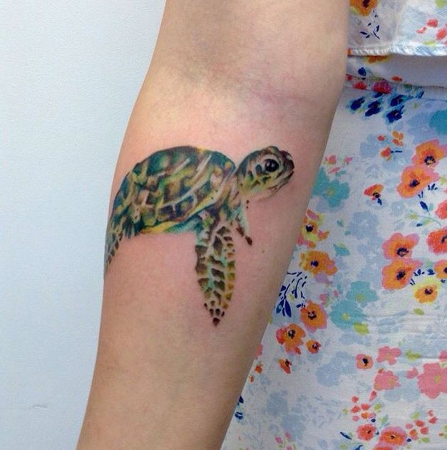 23 Turtle Tattoos With Amazing Symbolisms And Meanings Tattoos Win