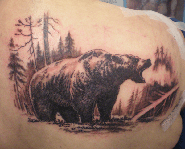 3cfdeb752 22 Bear Tattoos With Physical and Spiritual Meanings - Tattoos Win