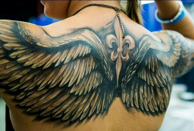 24 Angel Wings Tattoos And Their Deep Spiritual Connection - Tattoos Win
