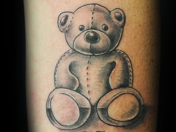 16 Cute Cuddly Teddy Bear Tattoos And Meanings Tattoos Win