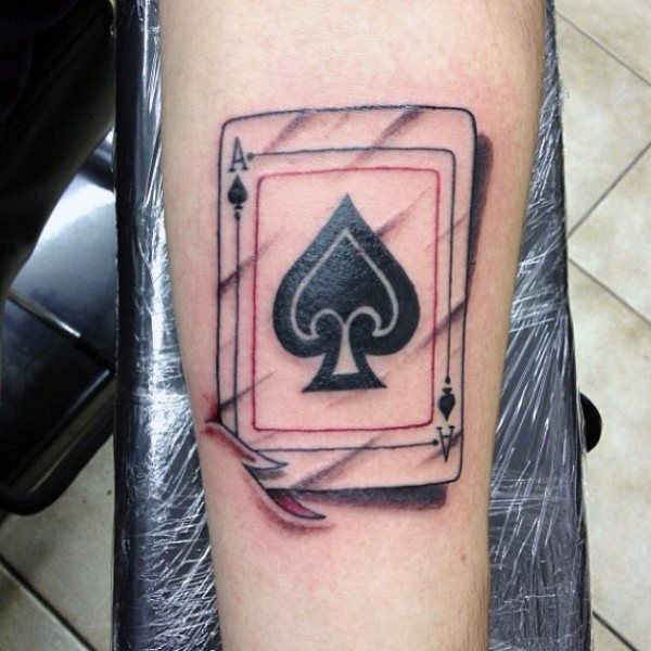 285aa56c7 24 Awesome Ace Of Spades Tattoos With Powerful Meanings - Tattoos Win