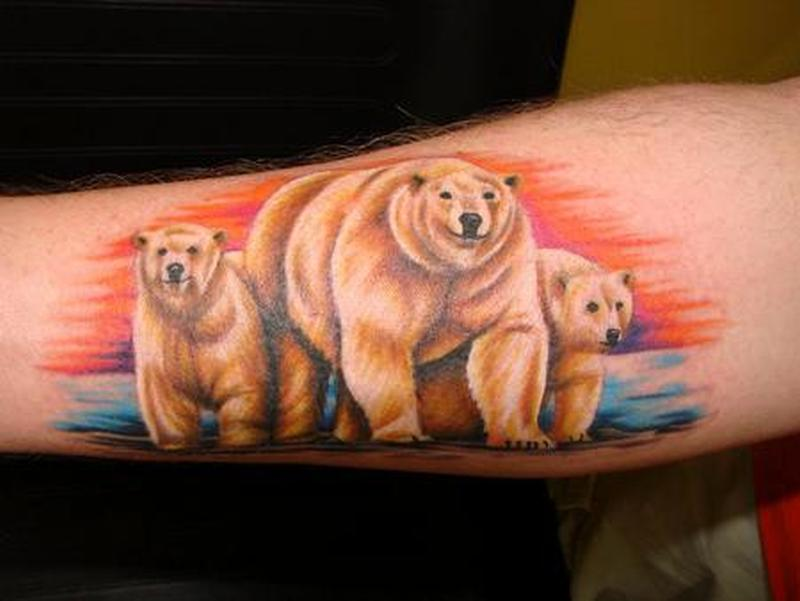 8cb7f9a4a5445 22 Bear Tattoos With Physical and Spiritual Meanings - Tattoos Win