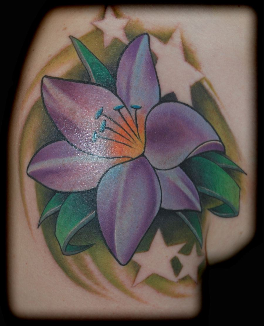 30 Beautiful And Traditional Lily Flower Tattoos With Meanings