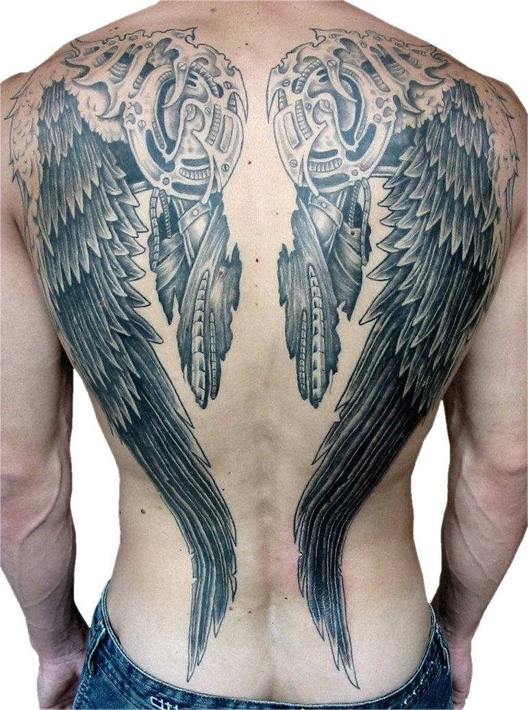 ddd40d3ee0dc5 24 Angel Wings Tattoos And Their Deep Spiritual Connection - Tattoos Win
