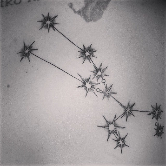 Constellation Tattoo - Tattoo Collections