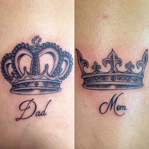 50 Mom And Dad Tattoos With Significant Meanings Tattooswin