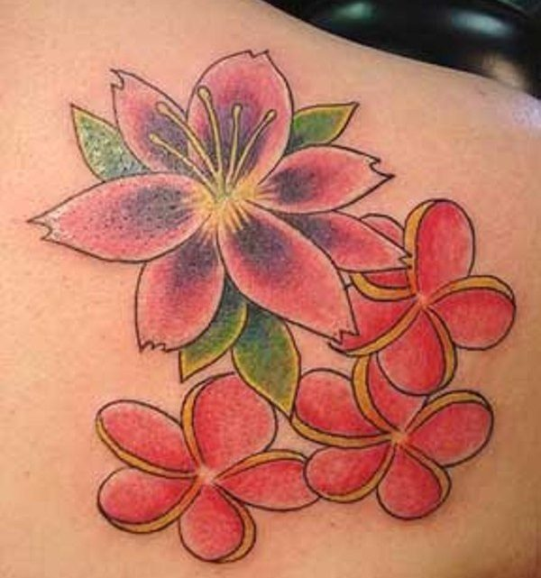 23 Colorful Hawaiian Flower Tattoos With Meanings - Tattoos Win