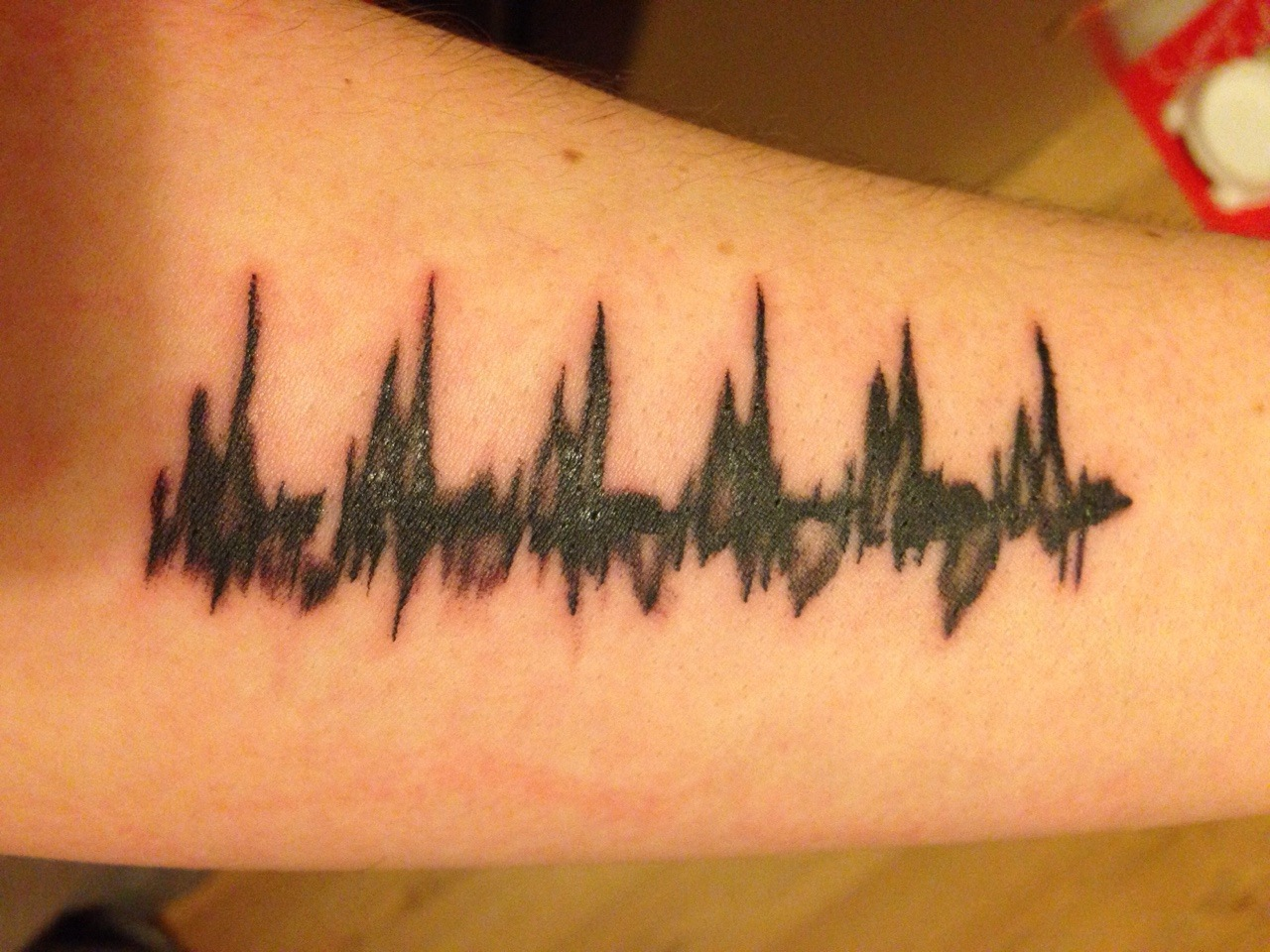Heartbeat line tattoo with deep connections and meanings tattoos win pin it on pinterest buycottarizona Images