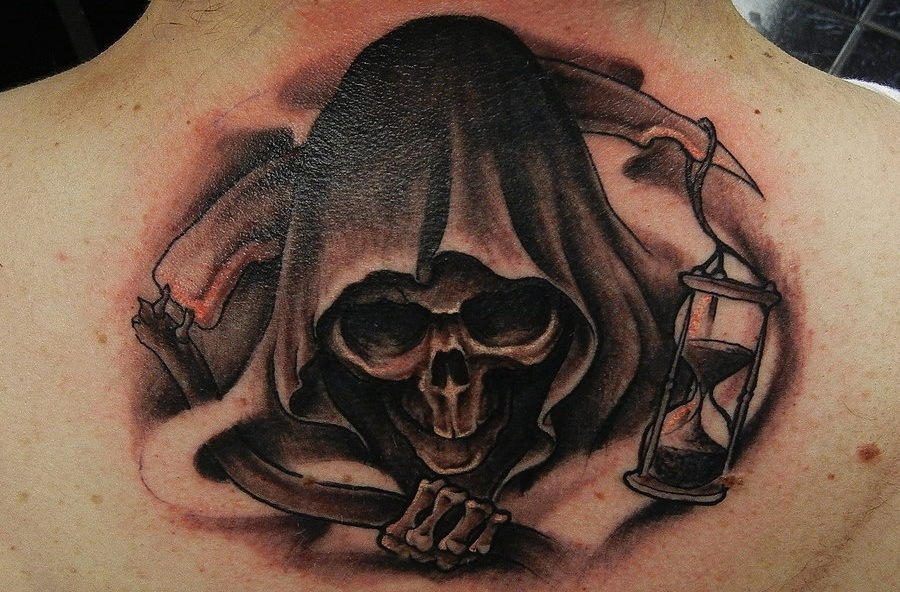 6dc965d2d 37 Grim Reaper Tattoos With Dark and Mysterious Meanings - Tattoos Win