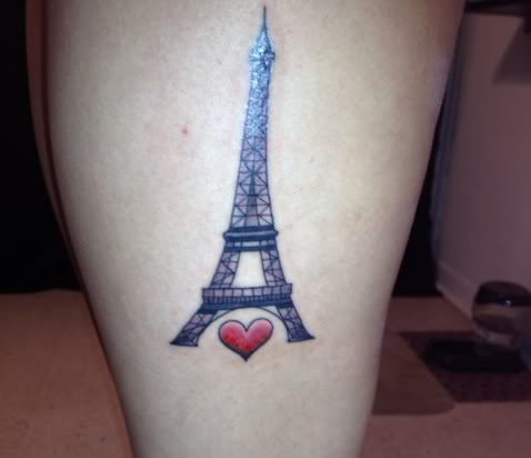 25 eiffel tower tattoos with creative meanings tattoos win rh tattooswin com eiffel tower tattoo eiffel tower tattoo small