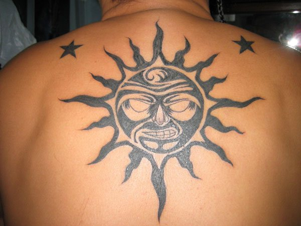 912eae824 23 Sun Tattoos and Their Powerful and Symbolic Meanings - Tattoos Win