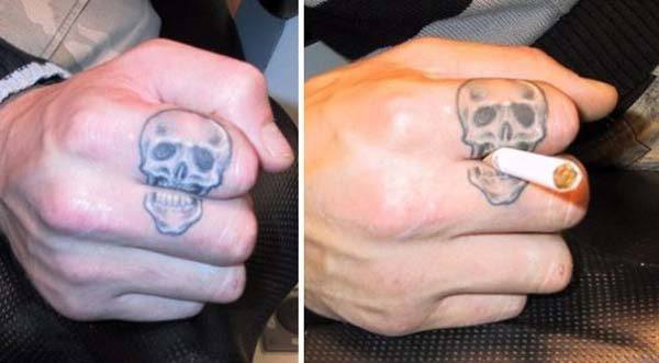 1d6dd018458fe 31 Tattoos on Fingers With Interesting Meaning - Tattoos Win