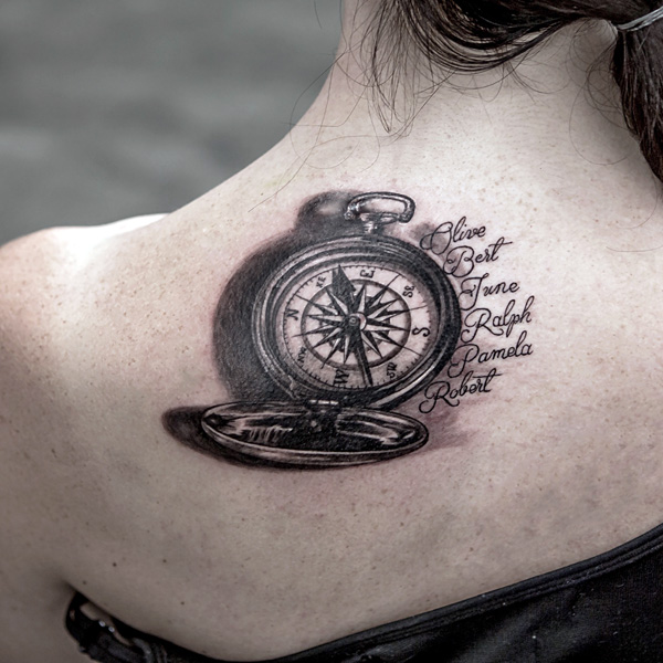 Discover The 17 Small Compass Tattoos and Their Meanings - Tattoos Win