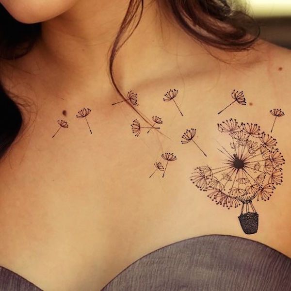 23 Unique Dandelion Tattoos With Vibrant And Meanings Tattoos Win