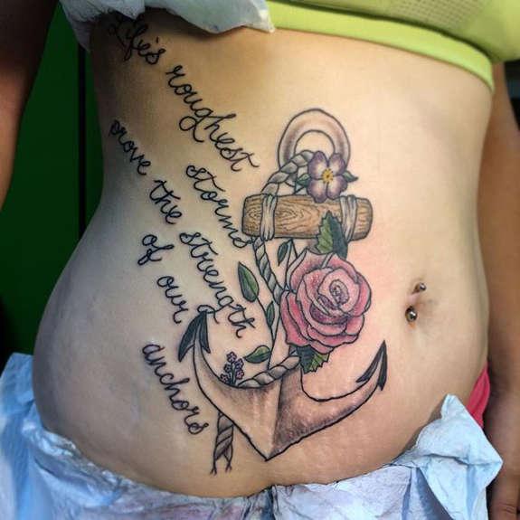 27 Stunning Stomach Tattoos for Men - Tattoos Win