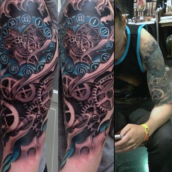 36 Mechanical Arm Tattoos With Meanings Tattoos Win