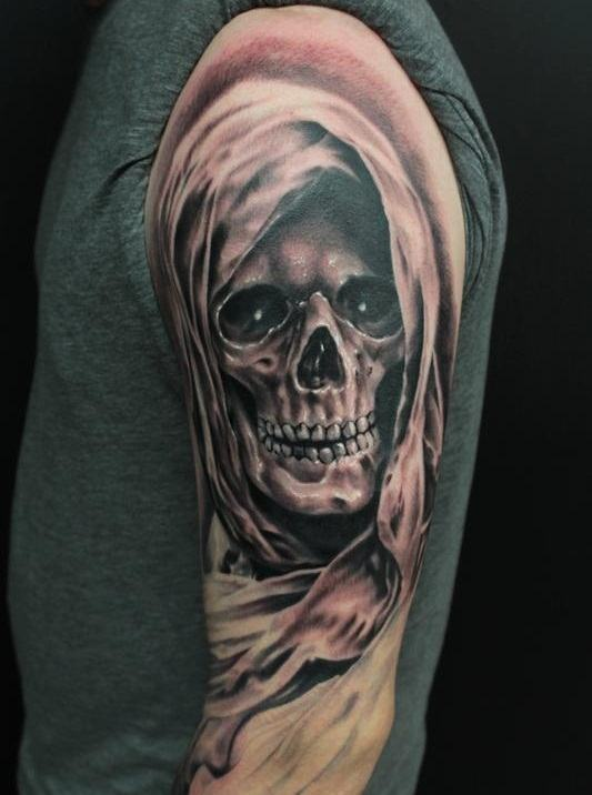 37 Grim Reaper Tattoos With Dark and Mysterious Meanings - Tattoos Win