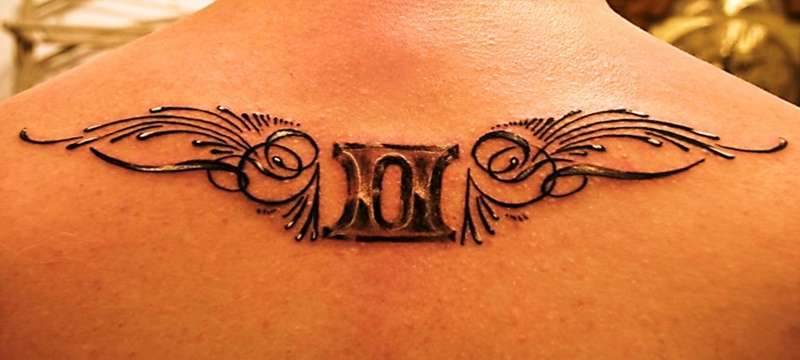 13c301c1f6b70 39 Gemini Tattoos and Their Zodiac Design Meanings - Tattoos Win