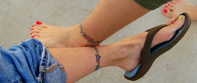 Anklet Tattoos With Beautiful and Diversifying Meanings