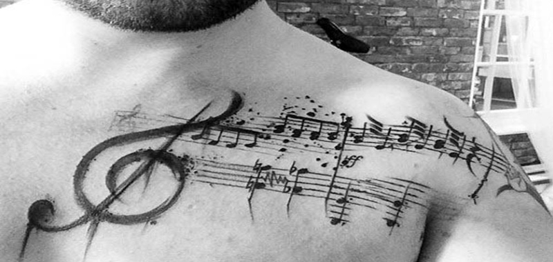 Looking For A Tattoo Design That Will Express Your Love Music Creativity And The Fact You March To Beat Of Own Drum