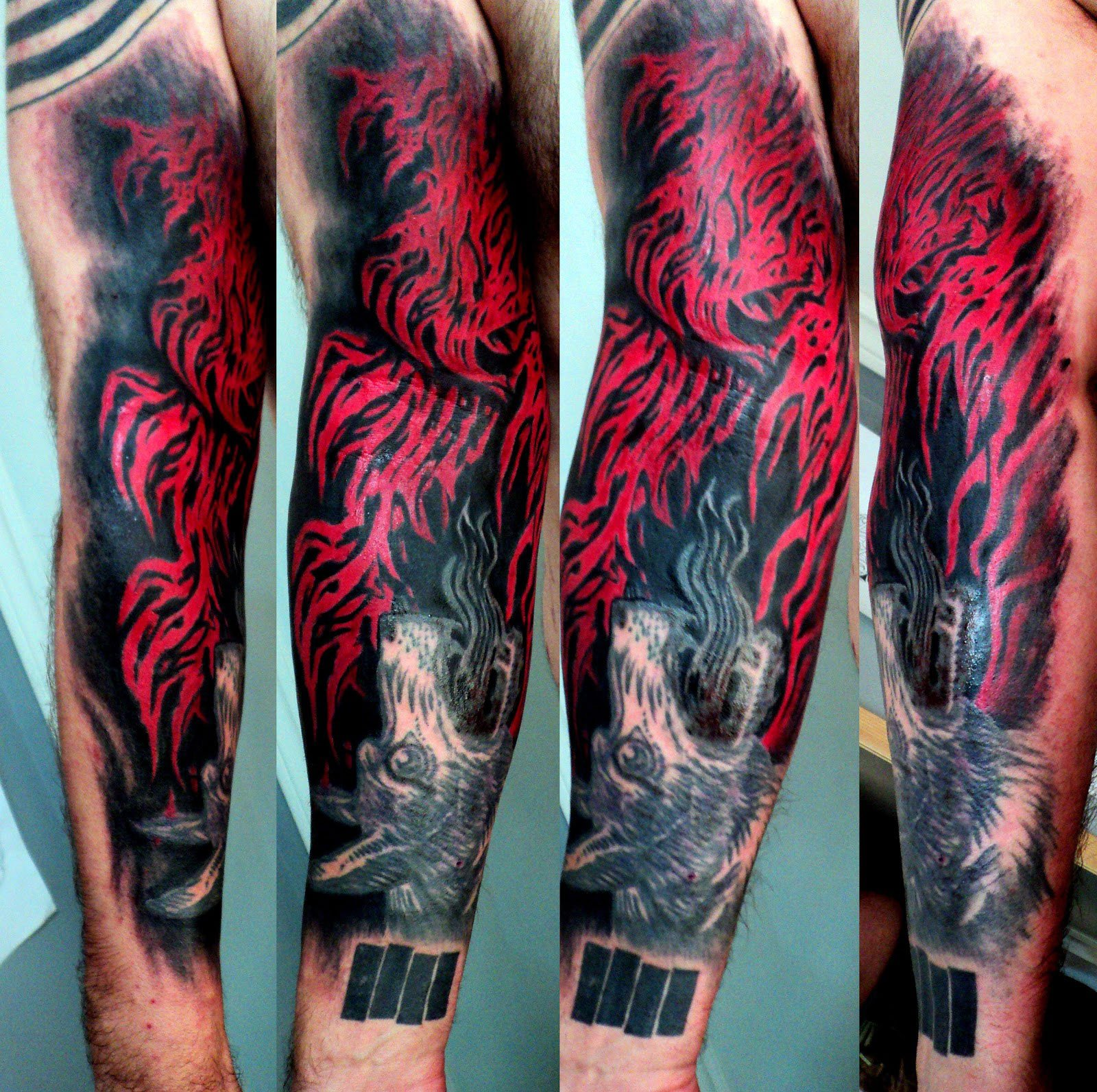 27 Flames Tattoos With Smoking Hot Meanings Tattoos Win