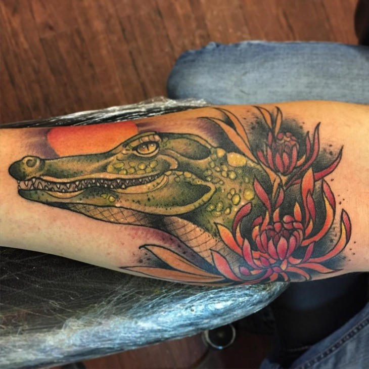 39 Alligator Tattoos And Their Powerful Meanings Tattoos Win