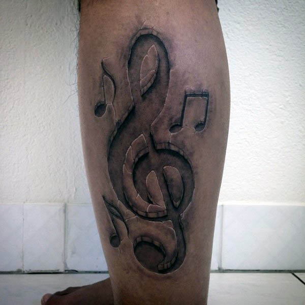 42 Treble Clef Tattoos With Significant Meanings Tattoos Win
