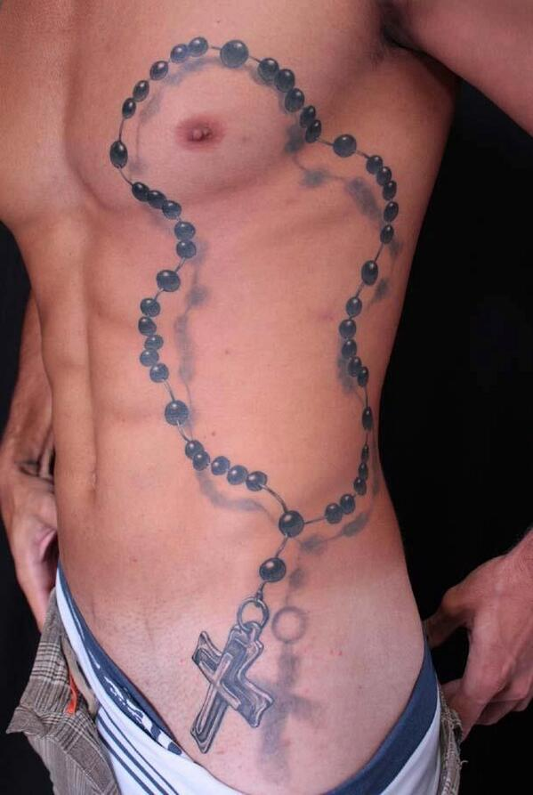 a379e6538 31 Rosary Beads Tattoos With Symbolism and Meanings - Tattoos Win