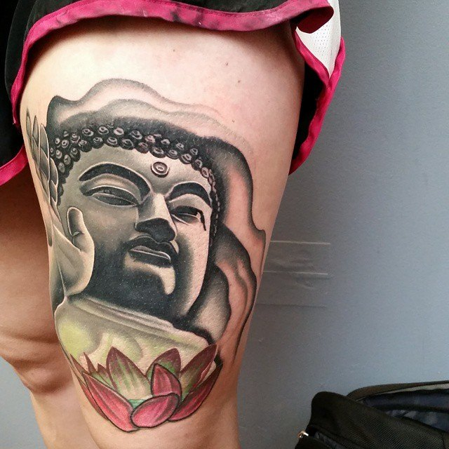 29 Buddha Tattoos And Their Vast And Spiritual Meanings Tattoos Win